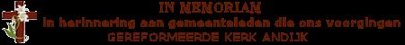 GKA In Memoriam Mobile Logo
